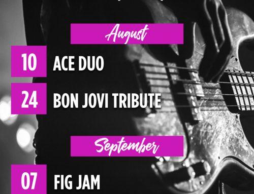 August & September Live Music