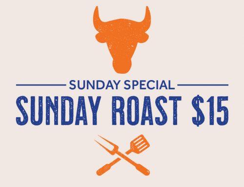 $15 Sunday Roast