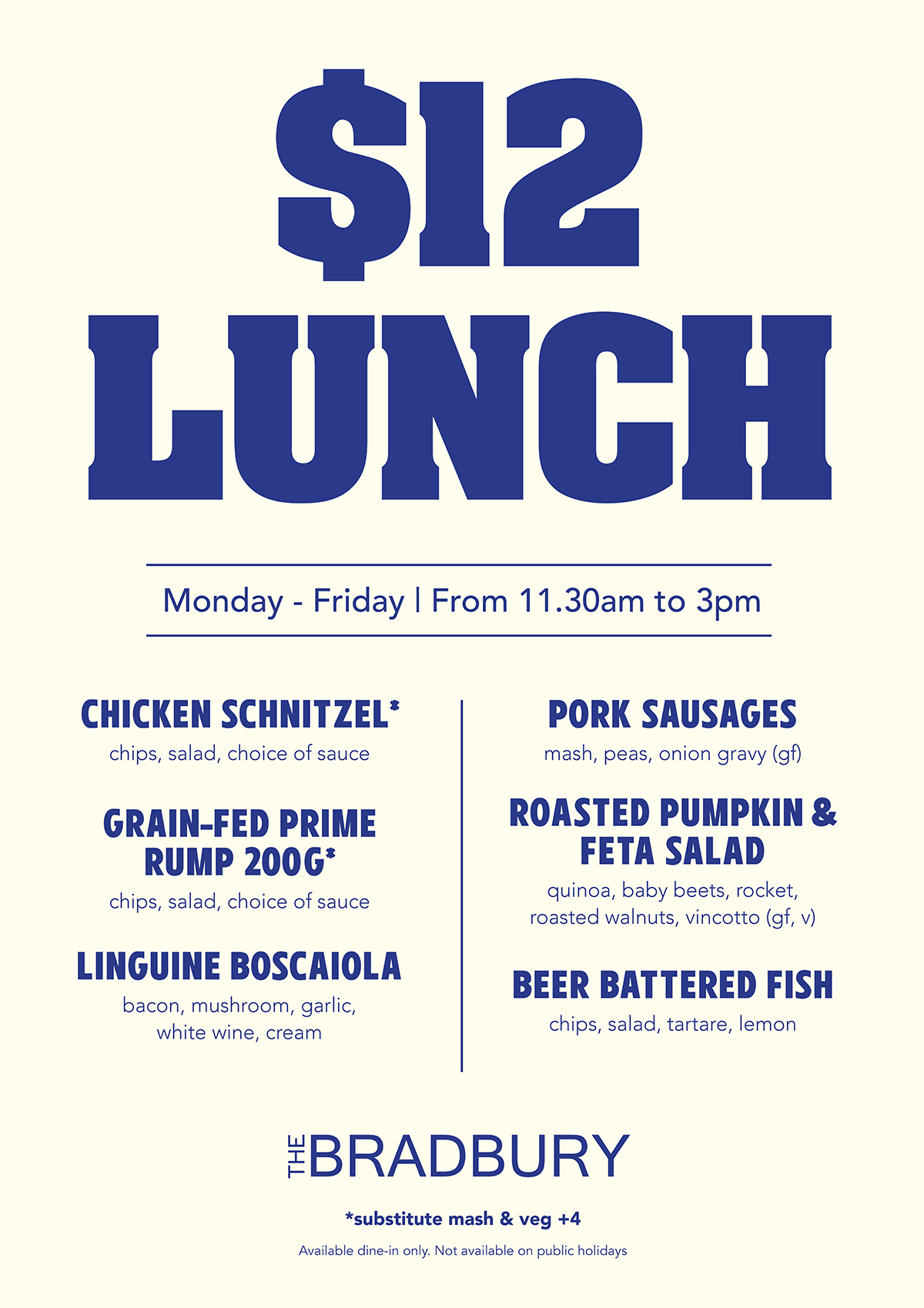 Lunch Specials A1
