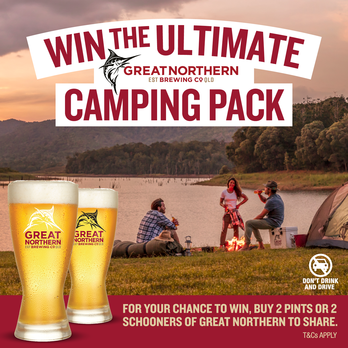 Win the ultimate Coleman camping kit