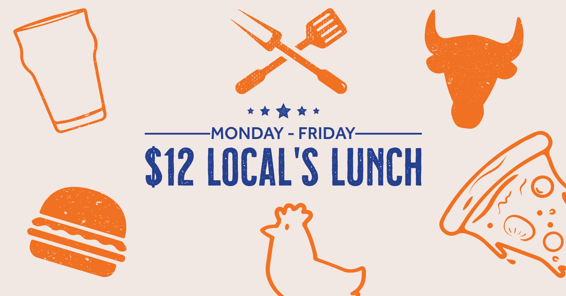 $12 Local's Lunch